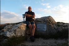 San León mendiaren gailurra 1.228 m. -- 2015eko urriaren 2an