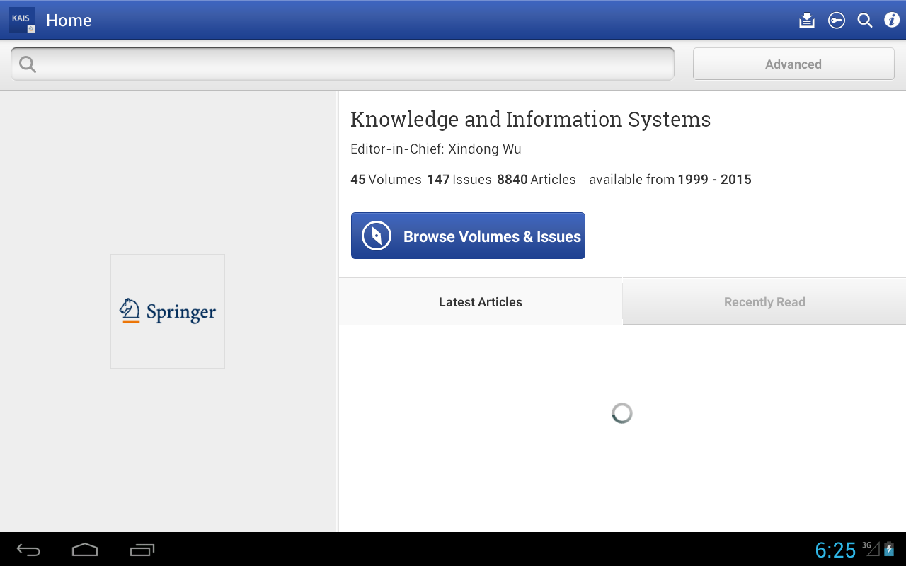 Knowledge and Inf Systems- screenshot