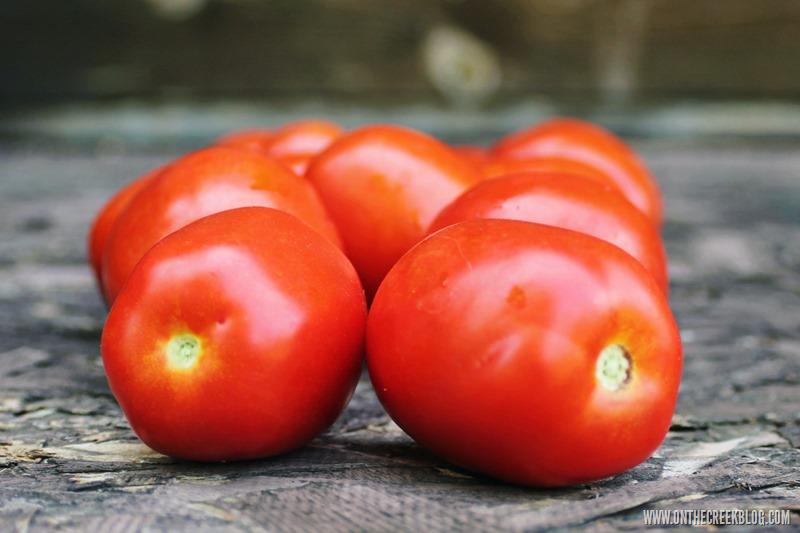 Garden Fresh Roma Tomatoes