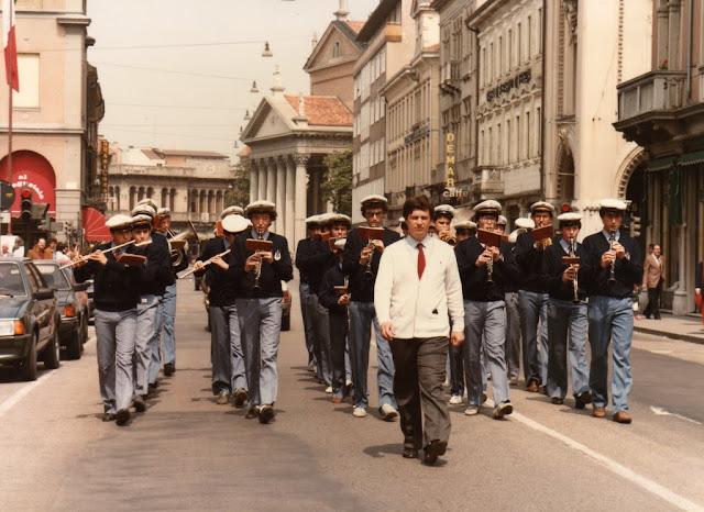 La Banda Don Bosco nel 1985