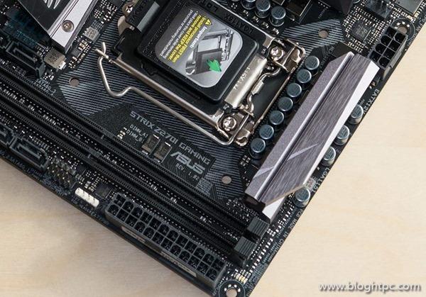 Detalle Asus STRIX Z270i GAMING