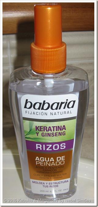 Agua de Peinado para Caracóis da Babaria