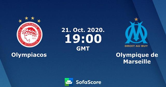 ΟΛΥΜΠΙΑΚΟΣ – ΜΑΡΣΕΪΓ  Olympiakos vs Marseille   live streaming