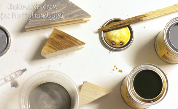 Creating a custom stain blend