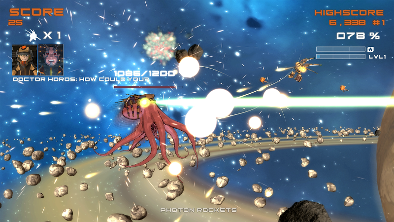 Quantum Revenge - Mecha Robot Space Shooter Screenshot 2