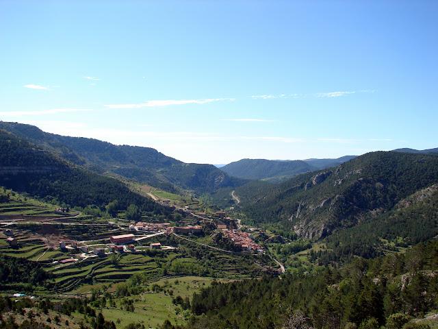 Senderismo - Linares de Mora - Pistas de esquí - Monegro - Molinete - Pino Escobón
