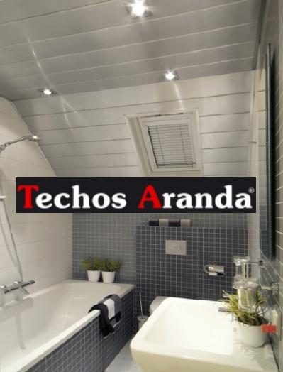 Presupuesto economico techos de aluminio para baños Madrid