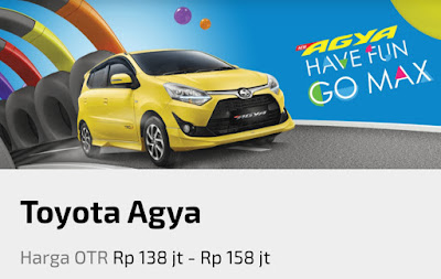 Toyota All New Agya