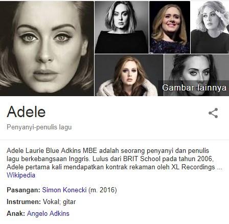 Fakta Menarik Adele Yang Mungkin Belum Kamu Ketahui 24 Fakta Menarik Adele Yang Mungkin Belum Kamu Ketahui