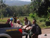 Bocah SMAN Pamotan Berangkat Ekskul Pramuka ditabrak Truk