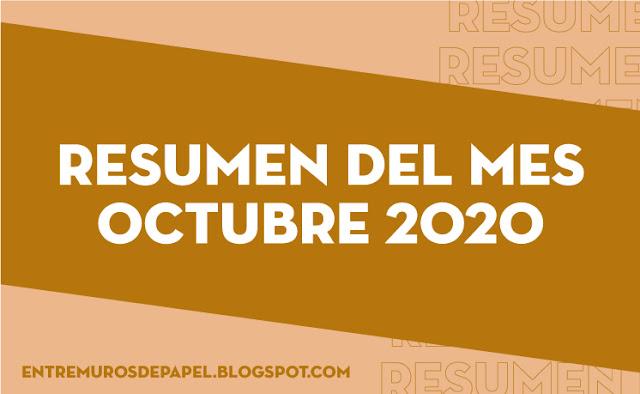 Resumen del mes octubre 2020
