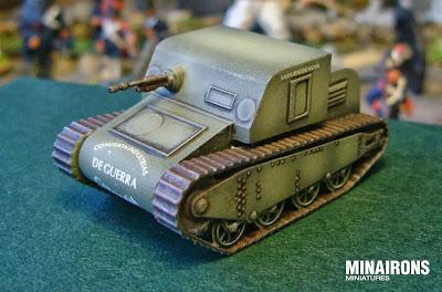 Sadurní tank, front