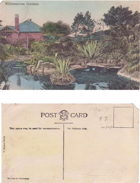 Ornamental Lake and Lodge, Williamstown Botanic Gardens