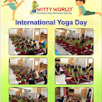 Witty World Celebrates International Yoga Day (2015-16)
