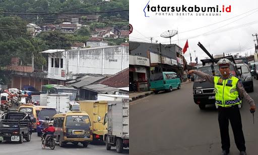 Situasi Terkini Jelang Musim Libur Akhir Tahun, Sistem Tutup Buka Jalan di Simpang Sukaratu Cibadak
