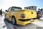 Yellow Ford F150 Boss
