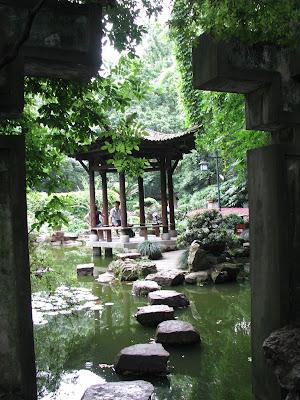 Six Harmonies Pagoda garden