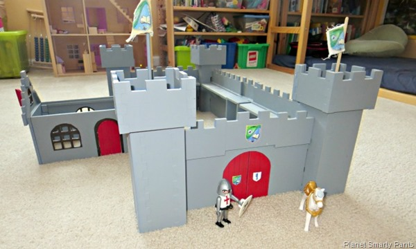 How to build a small world castle out of MDF board