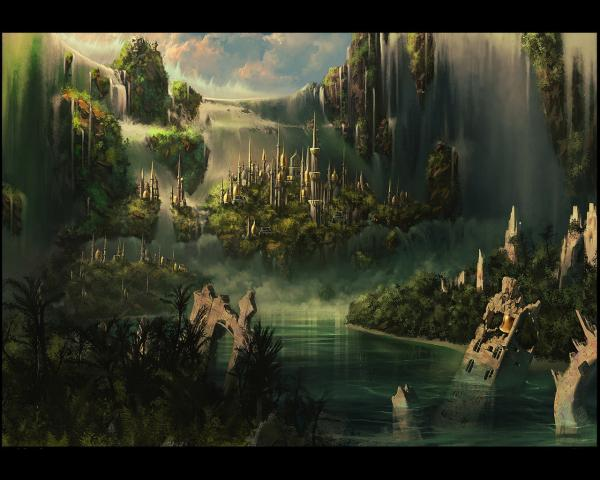 Scary Landscape From Dream, Fantasy Scenes 2