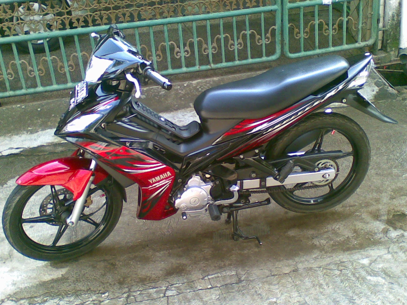 Modifikasi Motor Jupiter Mx Standar
