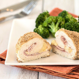 Crispy Chicken Cordon Bleu for Two