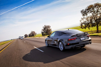 Audi A7 Piloted Driving Concept Drives Silicon Valley to Las Vegas Drive 19
