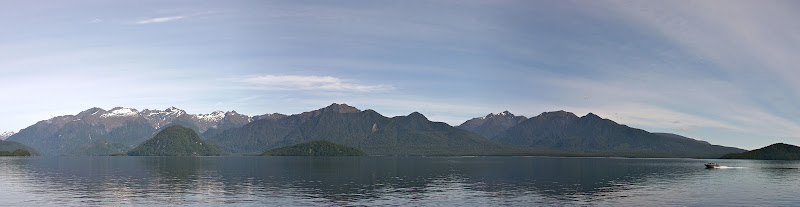 Lake Manapouri panorama
