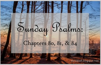 Sunday Psalms Chap. 80, 81, and 84