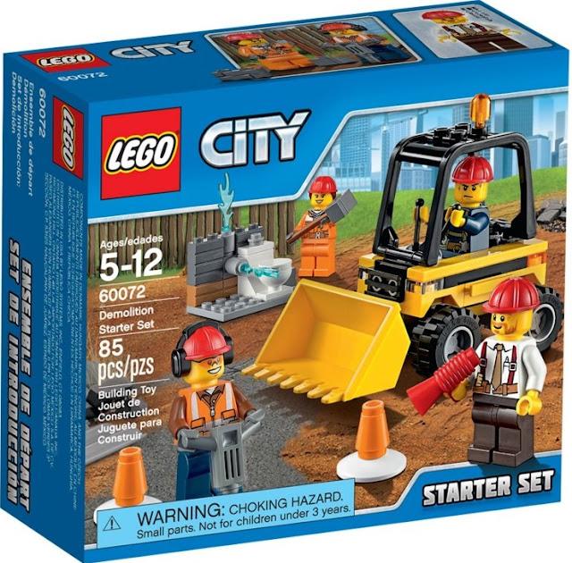 Đồ chơi xếp hình Lego City 60072 Đội Phá dỡ Công trường