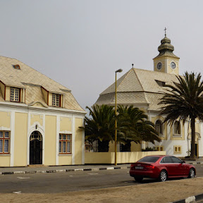 Kerk en pastorie van Swakopmund