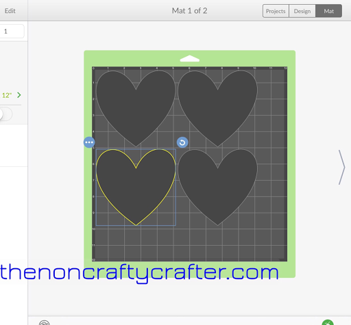 The non crafty crafter cricut design space ios app update for Space planning app