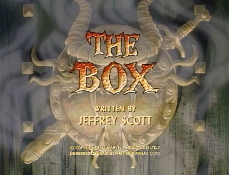 The Box title card