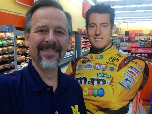 WalMart Jonesville Michigan NASCAR Cutout M&Ms