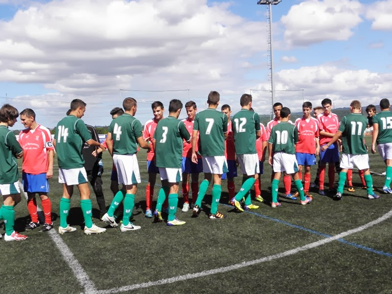"""Instante partido Numancia - Mugardos """"Trofeo Porta do Sol"""" (07/09/2013)"""