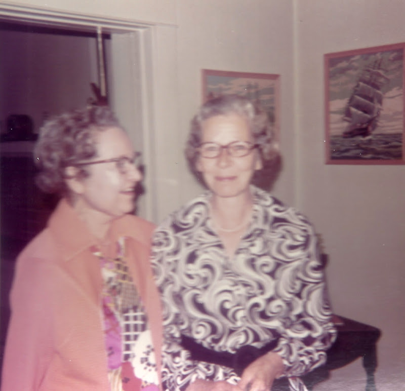 Annie and Dorothy in 1971