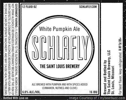 Schlafly White Pumpkin Ale
