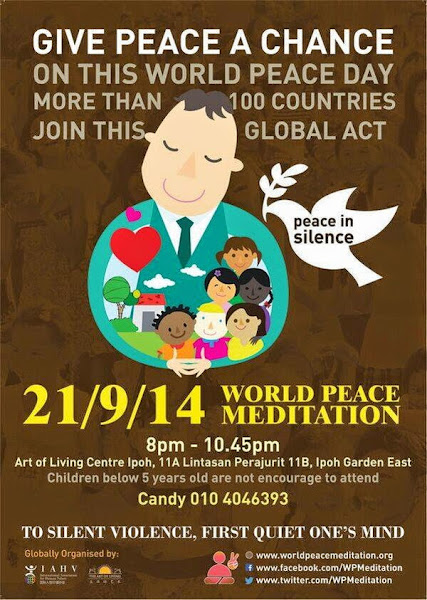 Announcement: World Peace Meditation (Ipoh)