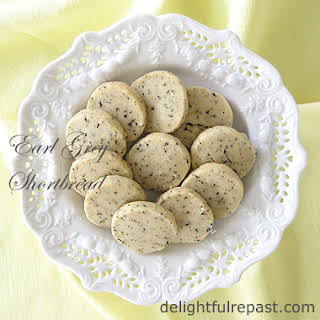 Earl Grey Shortbread.