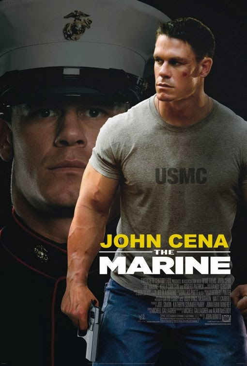 Poster Of The Marine (2006) Full Movie Hindi Dubbed Free Download Watch Online At Alldownloads4u.Com