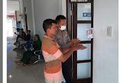 Satlantas Aceh Besar Sediakan Hand Sanitizer Bagi Pemohon SIM.