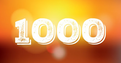 1000 post sul blog