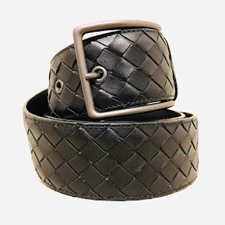 Bottega Veneta Woven Leather Belt