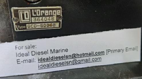 Lorange, GCOG006GB, Fuel valve Test bench, fuel valve, tester, marine fuel injector testor, injector tester,