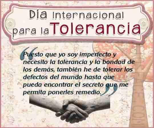 Hermosos pensamientos sobre la tolerancia