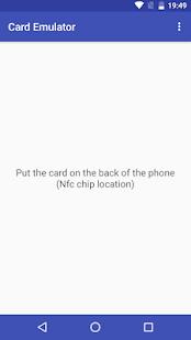 NFC Card Emulator Pro - náhled