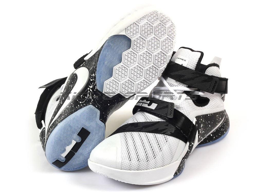b97cac687ea70 ... This Premium White and Black LeBron Soldier 9 Already Dropped in Asia  ...