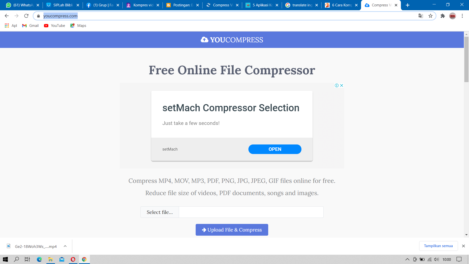 Situs-Kompress-Video-Online