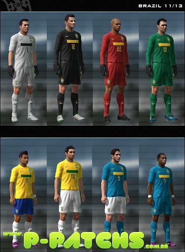 Brasil Kitset - Copa América 2011 para PES 2011 PES 2011 download P-Patchs