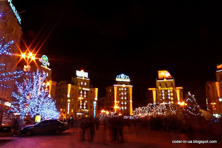 киев.новый год