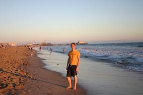 On Santa Monica Beach
